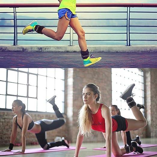 2er Packung Verstellbares Fußgelenkgewichte Set Sportneer Gewichtsmanschetten
