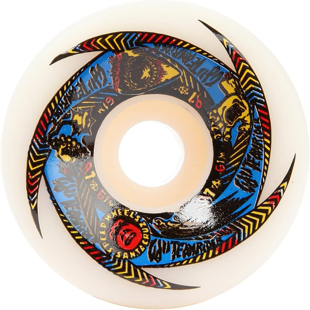OJ Wheels II Team Rider Speedwheels 97A 61mm