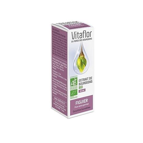 Vitaflor Organic Buds Extract Fig 15ml by Vitaflor
