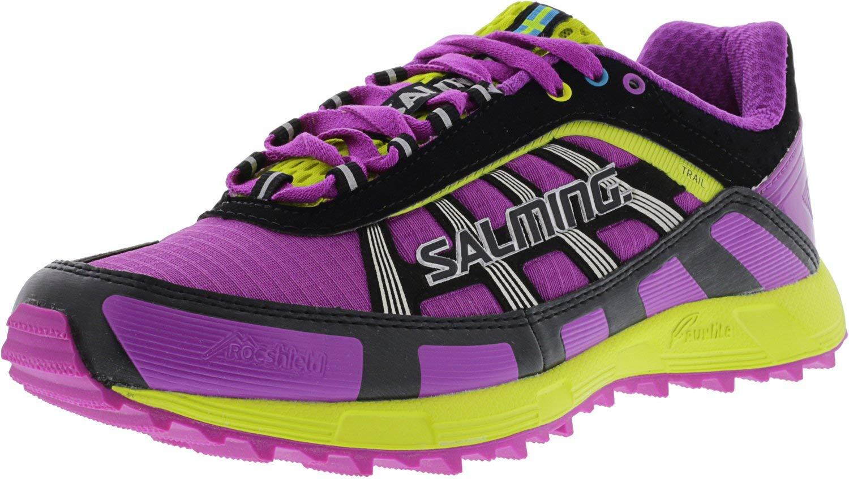 Salming T1 Women's Zapatilla De Correr Para Tierra - SS15 41.3|Rosa