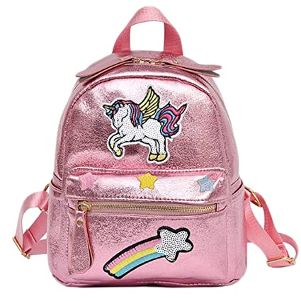 Schimer Mochila Infantil con diseño de Unicornio, Mochila Escolar para niñas, Mochila Grande para niños, Mochila Escolar Impermeable, Animales, ...