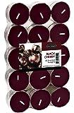 USA Tealight 30 Piece Tealights, Black Cherry