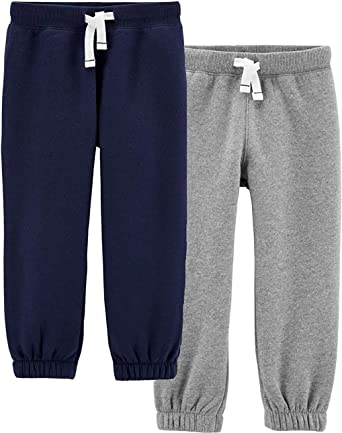 NEW Carter/'s Boys Heather Gray French Terry Pants Active Jogger 3T 6 7 8 yr Kid