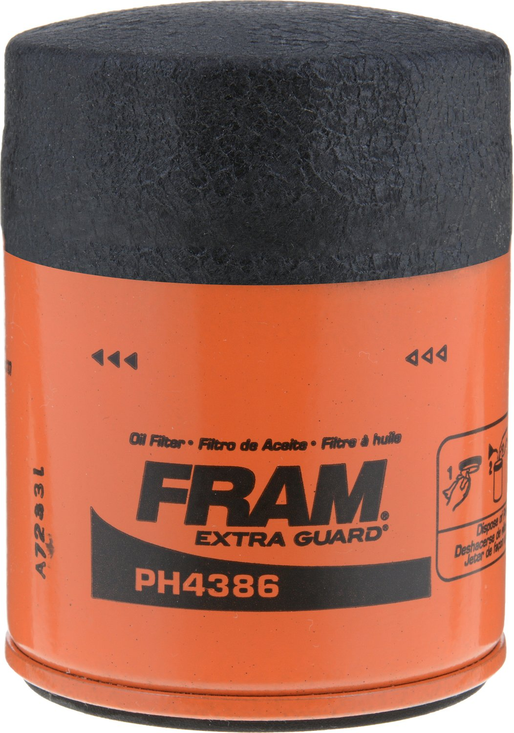 Amazon.com: FRAM PH4386 Extra Guard Passenger Car Spin-On Oil Filter ...