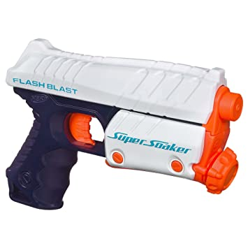 nerf squirt guns Dec 2014  Rumor: Gang members are disguising shotguns as Super Soaker water guns.