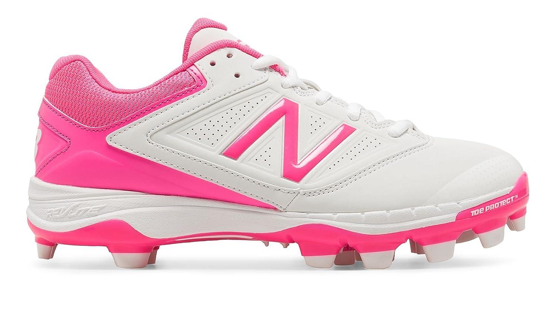 (ニューバランス) New Balance 靴シューズ レディース野球ソフト Low-Cut 4040v1 Pink Ribbon Plastic Cleat White with Komen Pink ホワイト ピンク US 9 (26cm) B01LDYQX9I