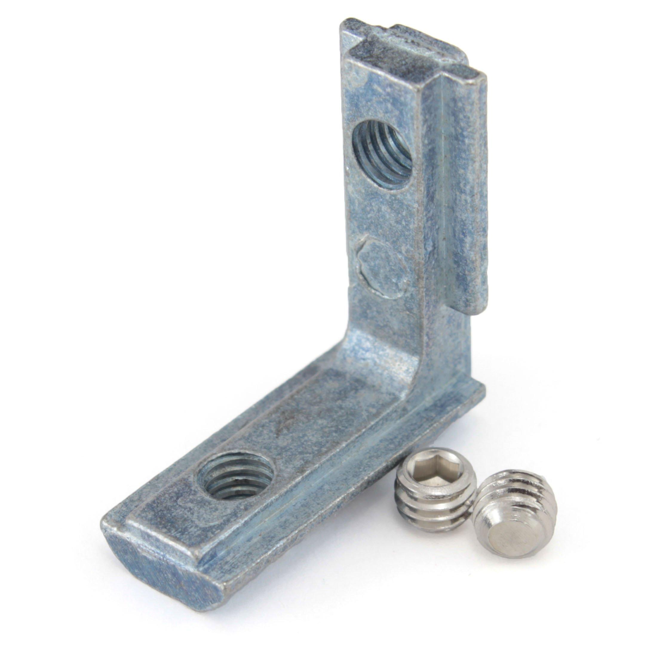 Blind/Hidden Inside Corner Bracket for 20mm V-Slot/T-Slot Aluminum Extrusion 25x25x10mm (Pack of 100)