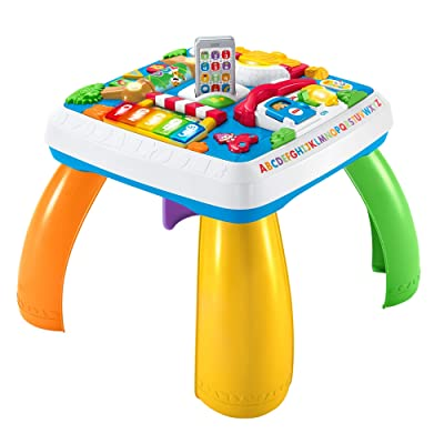 Fisher-Price Laugh & Learn Around The Town Learning Table: Toys & Games