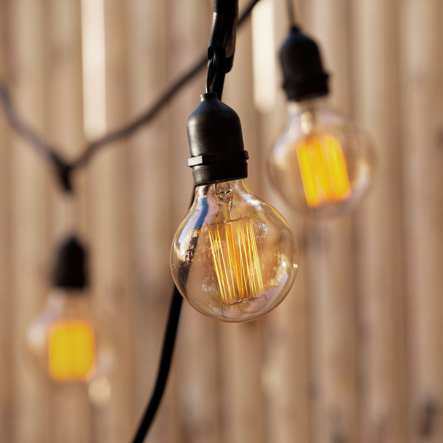 Edison Globe G25 Vintage Light Bulbs Warm White Midwood Design Fully Dimmable E26 Squirrel Cage Filament Brooklyn Bulb Co Set of 4 BBV6929 40W