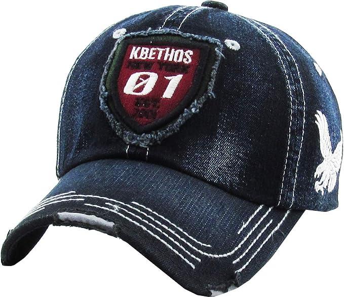 Cotton Hats Adjustable Mens Denim Baseball Caps Flag Map of Aruba Funny