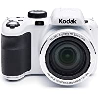 "Kodak PIXPRO Astro Zoom AZ421 16 MP Digital Camera with 42X Optical Zoom and 3"" LCD Screen (White)"