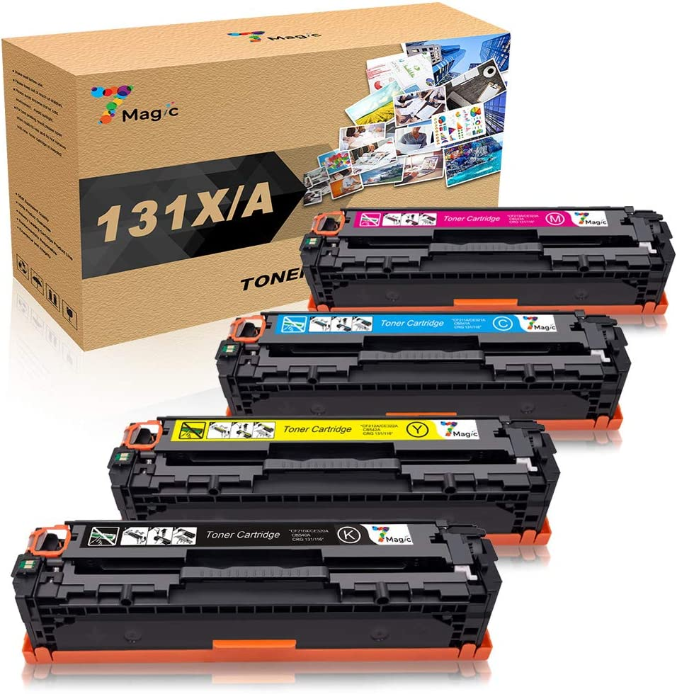 CF210X Toner Cartridges Lot For HP 131X LaserJet Pro 200 Color M276nw M276n M251
