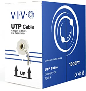 Amazon.com: New 500 ft bulk Cat5e Ethernet Cable / Wire UTP Pull Box ...