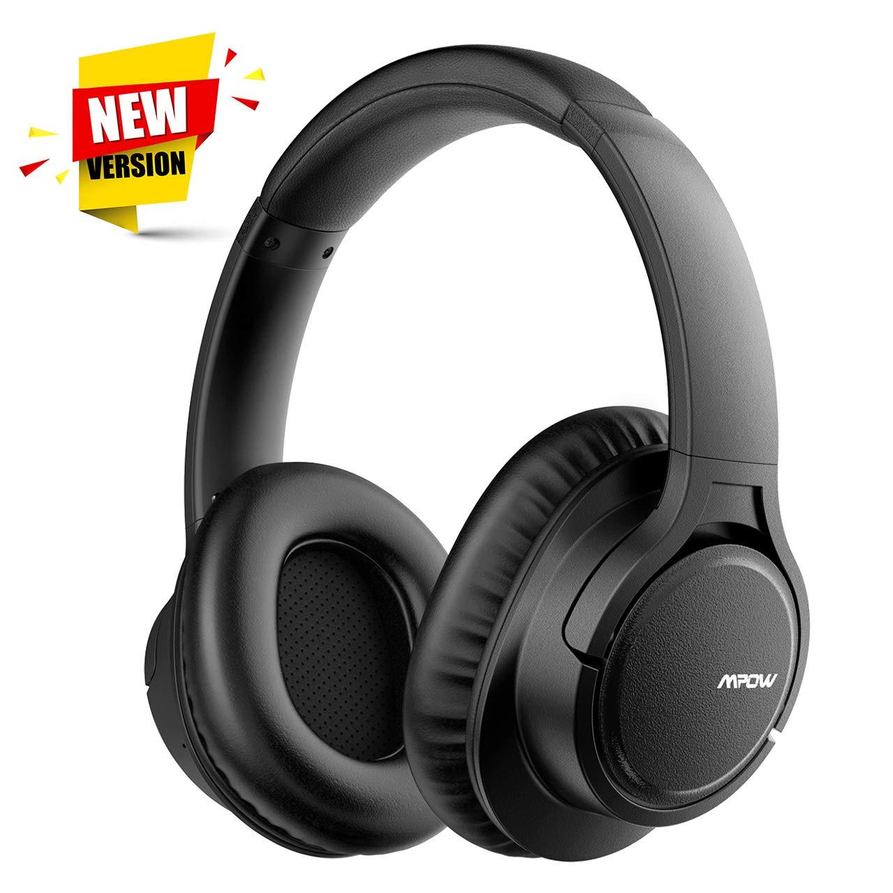 7a7f6b926cc61e Mpow 【Versione Aggiornata Cuffie Bluetooth H7, Hi-Fi Audio, Cuffie  Bluetooth CSR