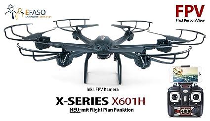 efaso FPV Hexacopter MJX x601h - 2,4 GHz WiFi dron con liveüb ...