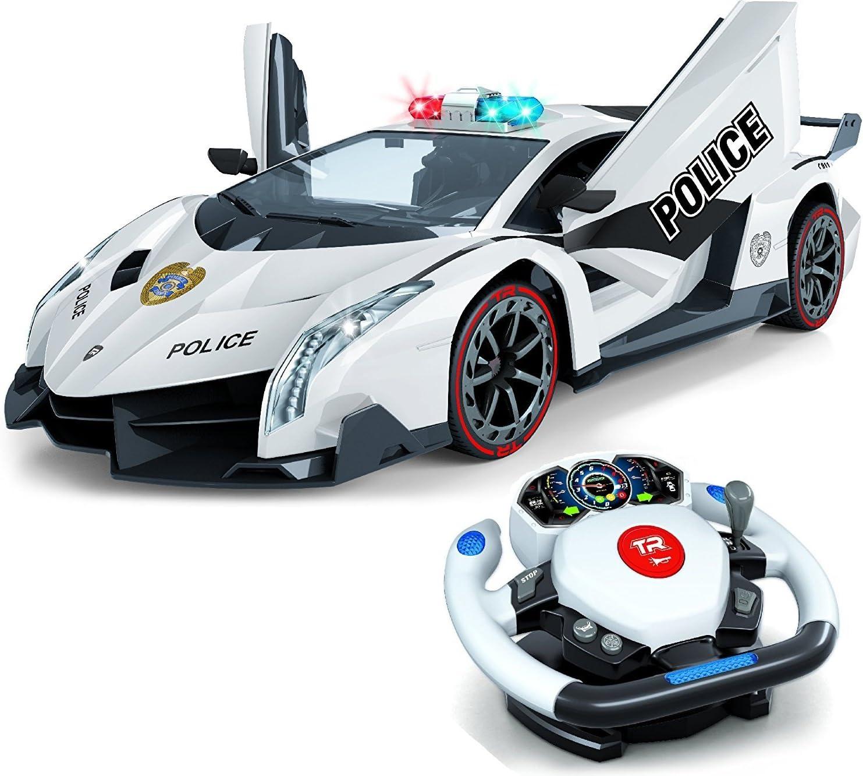 Top Race Remote Control Police Car