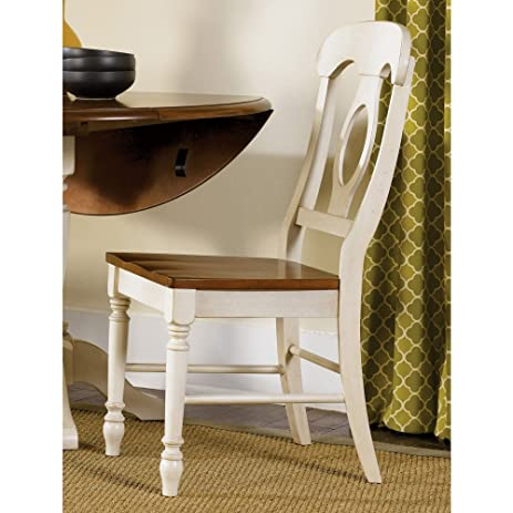 Liberty Furniture Low Country Sand Napoleon Dining Side Chair   Set Of 2