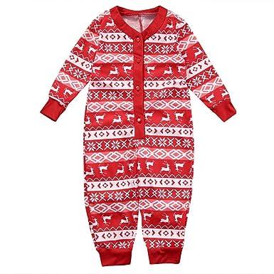 9c0d6c71d Amazon.com  Baby Christmas Pajamas - Family Matching Christmas ...