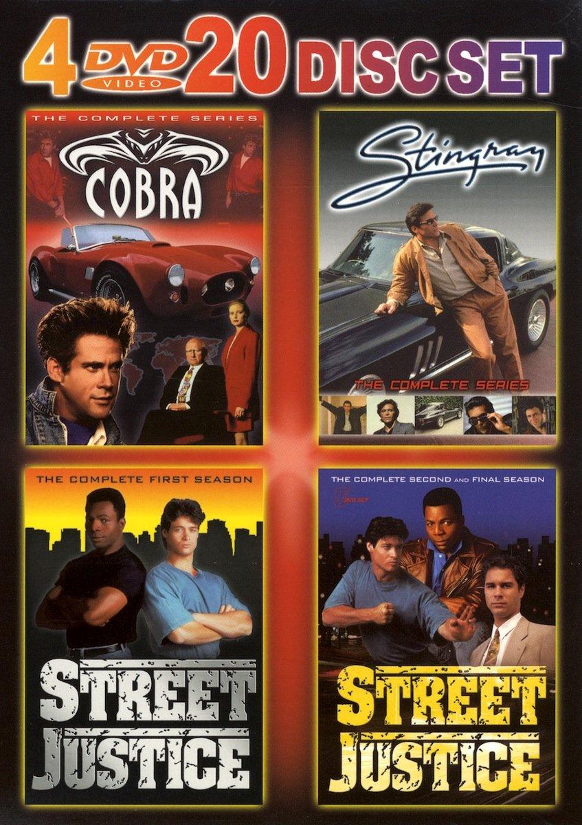 Stingray, Street Justice, Cobra Complete Serie Box Set)