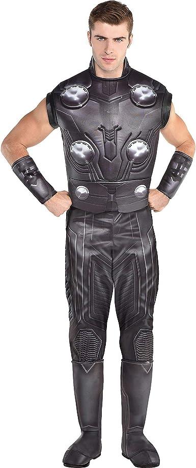 Party City Avengers: Endgame Thor Disfraz para Adultos, tamaño ...