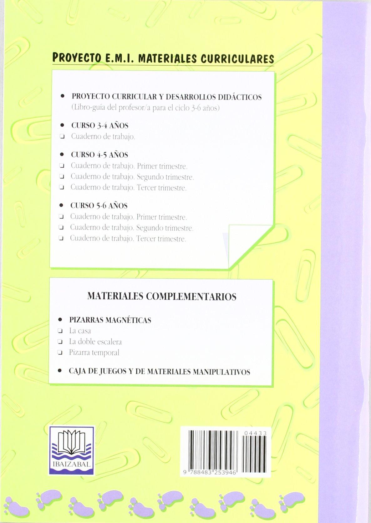 Cuaderno de Trabajo 1. trimestre - Emi 4-5 a?os: Luís Pereda ...