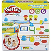Play-Doh Rakamları Ve Saymayı Öğreniyorum