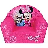Fun House Disney miinie Paris Silla para niños, Funda poliéster/Espuma Polyether, 52x 33x 42cm