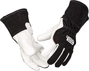 Lincoln Electric DynaMIG HD Professional MIG Welding Gloves | Comfort & Heat Resistance | Extra Large | K3806-XL