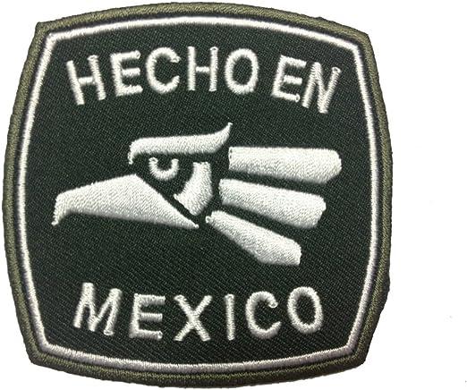 Hecho en Mexico Eagle appliques Gorra Polo Mochila Ropa Chaqueta ...