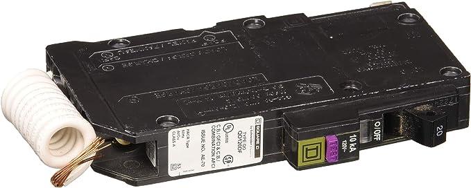SCHNEIDER ELECTRIC QO1201021 Miniature Circuit Breaker 120//240V 20-Amp Switch Not Fusible Hd 600V 400A Nema12