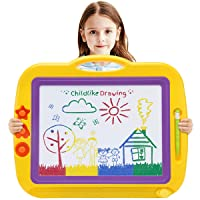 Magnetic Drawing Doodle Board,Toddler Toys for 3 4 5 6 7 Year Old Girls Boys,17.3IN...