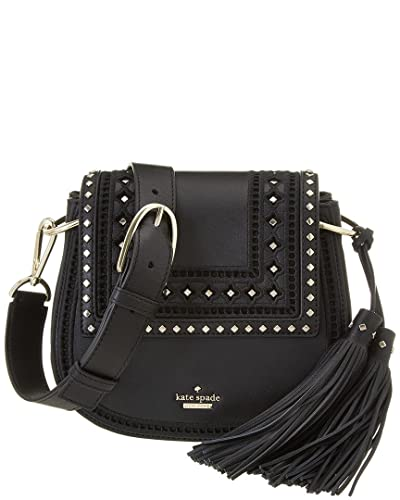 Amazon Com Kate Spade Lane Small Emaline Black Leather Cross Body