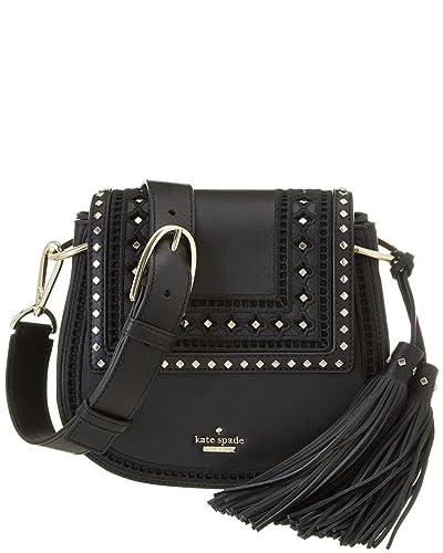cd3e3caf662 Kate Spade Lane Small Emaline Black Leather Cross Body Bag, Black