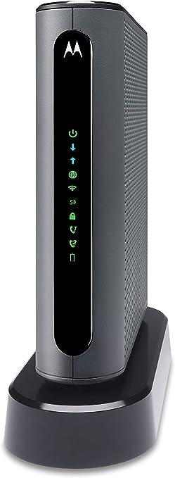 MOTOROLA MT7711 24X8 Cable Modem/Router con Dos Puertos de teléfono, DOCSIS 3.0 módem y AC1900 Dual Band WiFi Gigabit Router, para Comcast XFINITY Internet y Voz: Amazon.es: Electrónica