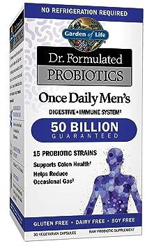 Garden of Life Probiotics Supplement for Men - Best Probiotic Brand for Men