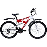 "Hero Octane Mercury V1 21 Speed Gear Bicycle - 26""(Red/White)"