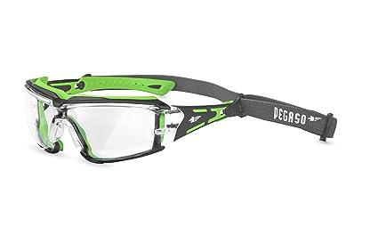 Pegaso 103.03 Gafas de Protección Verde y Negro L