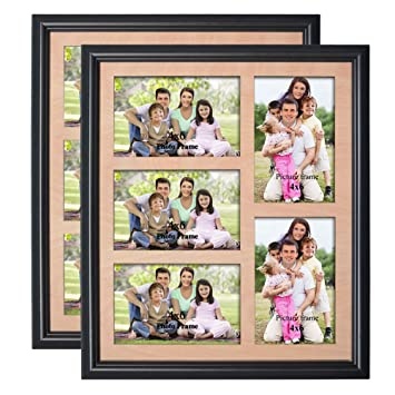 Amazoncom Petaflop 4x6 Collage Picture Frame 5 Opening Collage