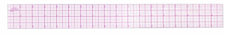 "Westcott® C-Thru® 18"" Pica Beveled Ruler - Color: Clear - Material ..."