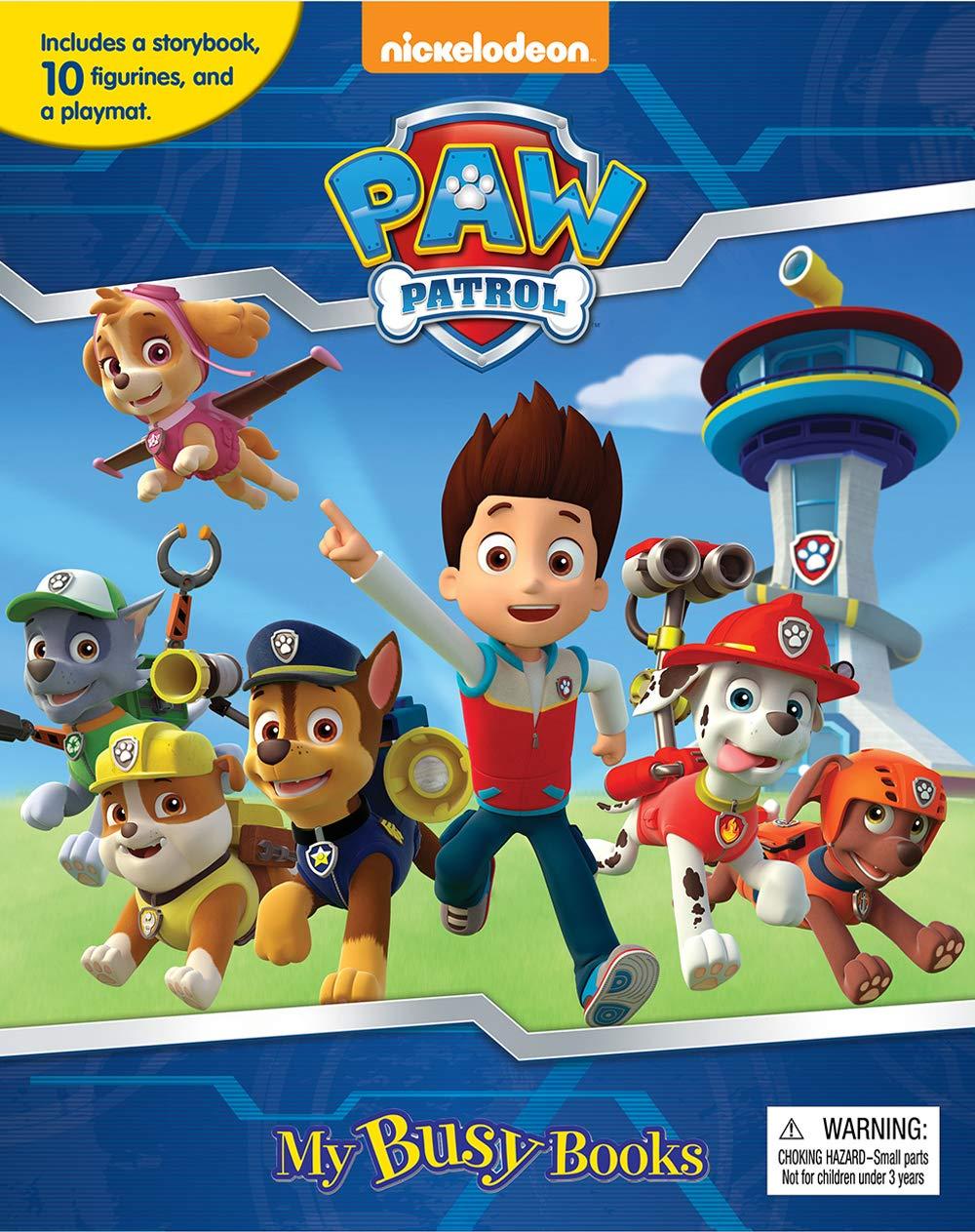 Paw Patrol My Busy Book: Phidal Publishing Inc : 8581993720967