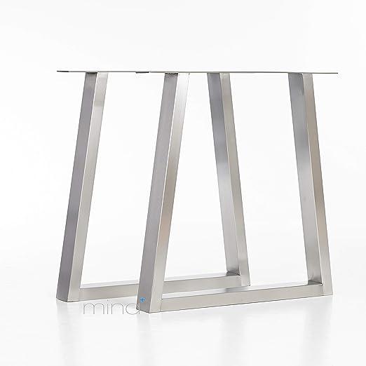 mina concept Mesa Estructura Acero Inoxidable Diseño ...