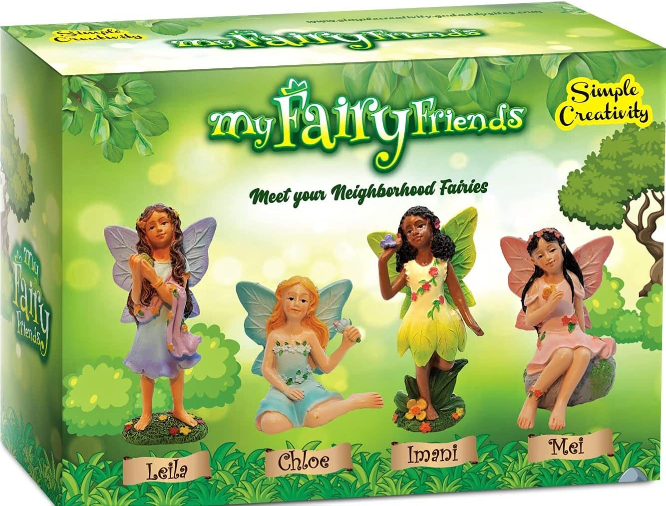 Fairies for Fairy Garden Miniatures Accessories Outdoor and Indoor, Miniature Doll Figurines Supplies Fairy House Figures