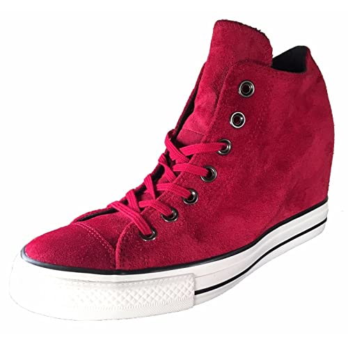 e6f1536709b ... where to buy converse womens chuck taylor lux mid hidden platform wedge  c505e 6c85a