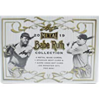 2019 Leaf Metal Babe Ruth Collection Baseball box (6 cards) photo