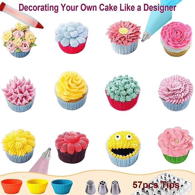 Amazon.com: 112 piezas de suministros de decoración para ...