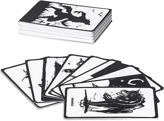 Goods & Gadgets Werwölfe - Juego de Cartas (52 Cartas, edición de Werwolf): Amazon.es: Hogar