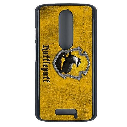 Amazon.com: Harry Potter, Hufflepuff Motorola Moto X3 case ...