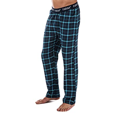 Farah Pantalon Hamer Flannel Bleu Homme  Amazon.fr  Vêtements et ... b9a379785919