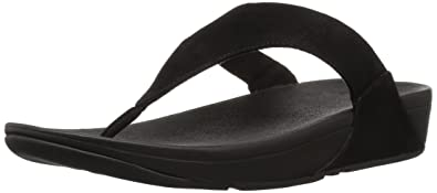 Womens Lulu Toe-Thong Shimmer-Check Sandals FitFlop 7p5zPWt2ss