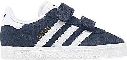 Adidas Gazelle Bébé Bleu Marine Bleu 27: : Sports